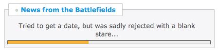 News from the Battlefields