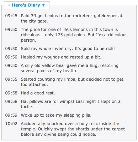 Hero Diary