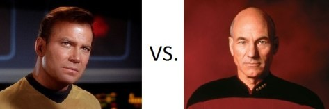 Kirk vs. Picard