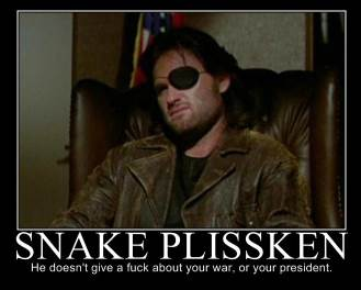 Plissken Demotivational