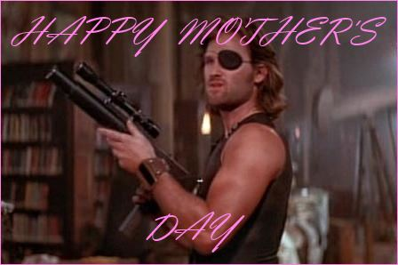 Snake Plissken Mothers Day Card