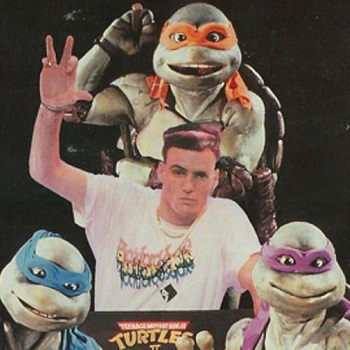 Vanilla Ice & Ninja Turtles